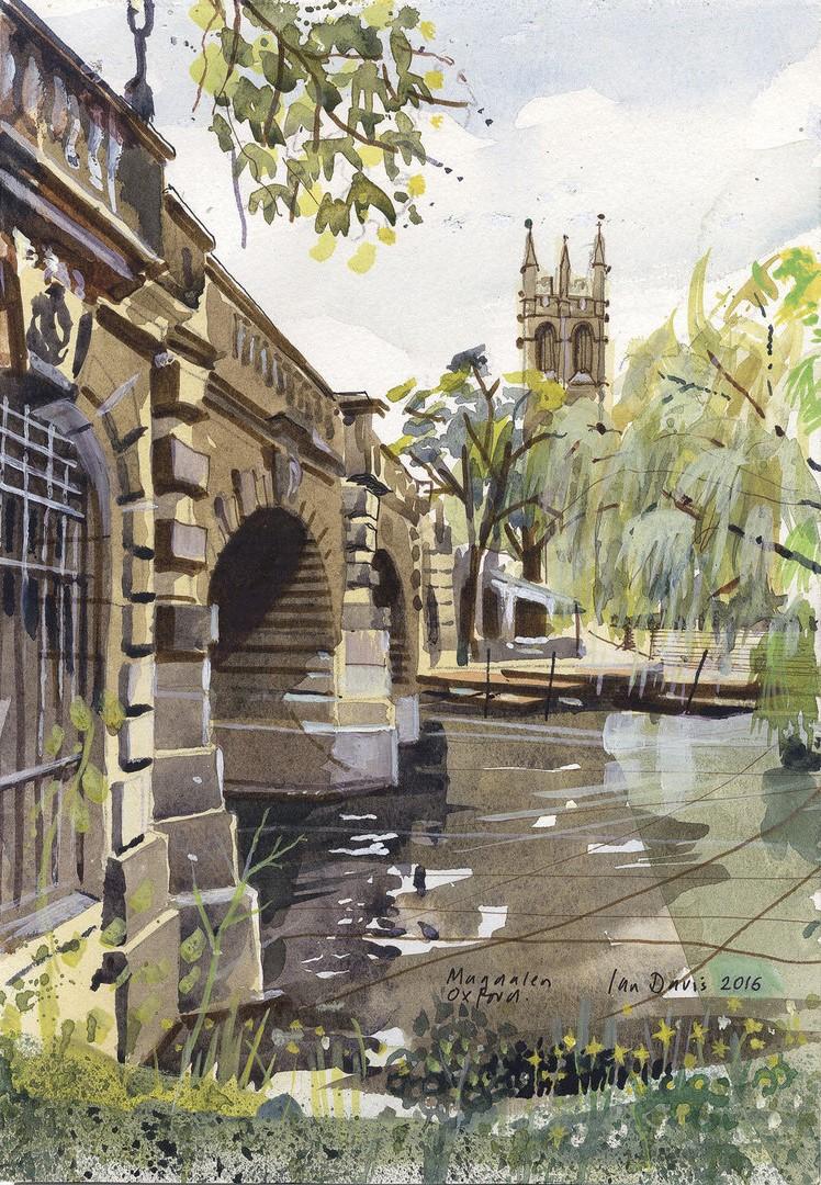 Magdalen Bridge by Ian Davis |