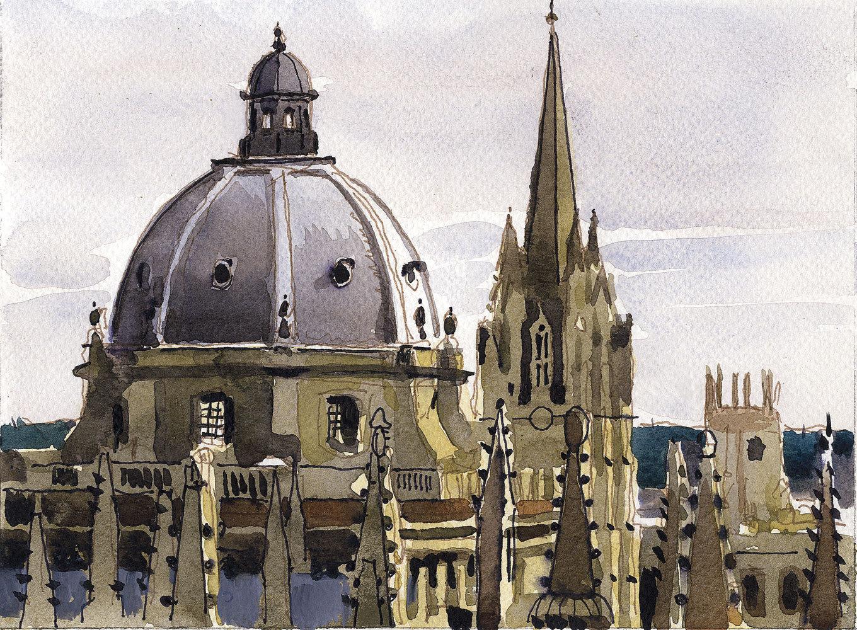 Radcliffe Square Skyline by Ian Davis |