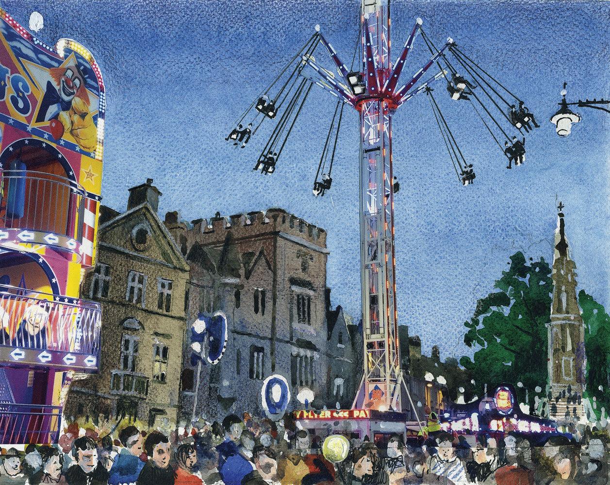 St Giles Fair by Ian Davis |