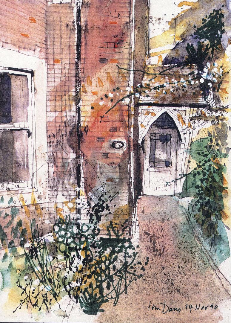 Victorian Front Door by Ian Davis |